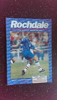 Rochdale V Scarborough, 1993-94