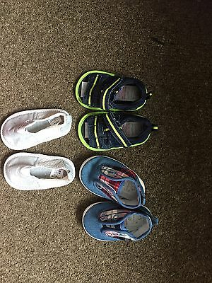 Bundle of baby boys  Shoe Next And Primark Essential  0-6 months