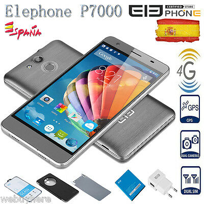 4G Elephone P7000 13MP  3GB+16GB Touch ID Octa Core Smartphone Móvil GPS +Funda