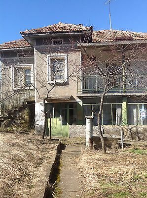 Bulgarian house with land and outbuildings