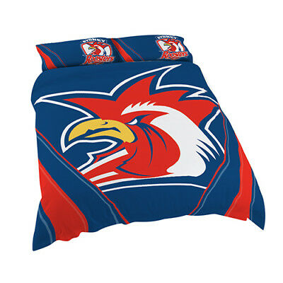 Sydney Roosters 2017 NRL Quilt Cover Set Single Double Queen King Pillowcase