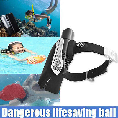 Wrist Self Rescue Bracelet Inflatable Lifesaving Emergency Sports Float Air Bag