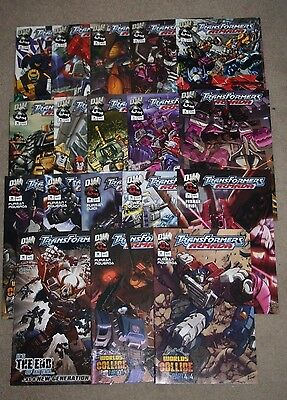 Transformers Armada Published by Dreamwave Productions Complete Set ~1-18 NM/M