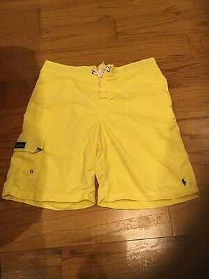 Men's Polo By Ralph Lauren Board Shorts, Size Large!