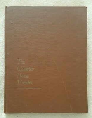 The Quarter Horse Breeder Vol. Volume 1 Book by Lindeman 1959 Rare Antique