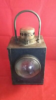 Old Vintage Antique Railway Train Lamp Light Lantern Industrial Architectural