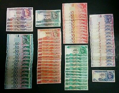 """CIR"" 70 Total Malaysia Banknotes, FV 1492 Ringgit, Scan-A003"