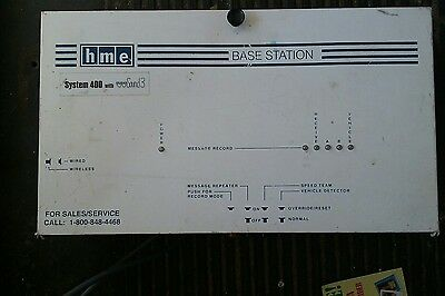 HME System 400 with Clear Sound 3 Base Station  Used  Drive-Thru Equipment lot