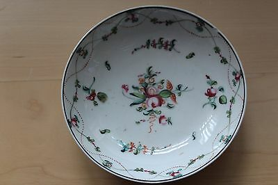 Chinese porcelain saucer famille rose 19th century (?)