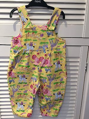 Cute Baby Girls Animal Print Jumpsuit Aged2-3 Years