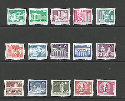 East Germany Mint set of stamps