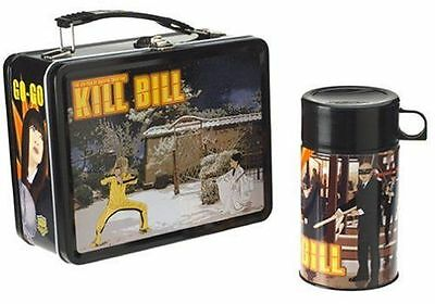 KILL BILL Quentin Tarantino NECA Tin Lunchbox with Thermos [Never Used]