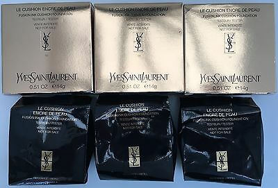 YSL FUSION INK CUSHION FOUNDATION 10,20,30 OR 40,14g choose from our menu