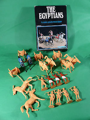 Atlantic Italy 1/32 No.1603 The Egyptians Cavalarie Figures boxed -