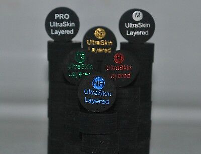 10 Mix or Match UltraSkin Layered Cue Tips to install on Cue Lathe