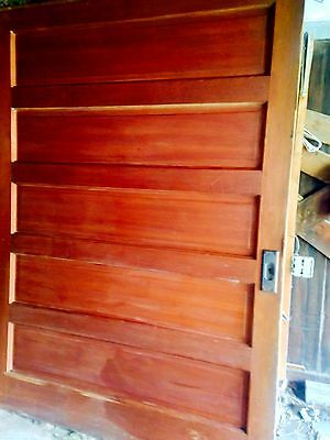 7×5 Pocket doors Yellow Pine 1800's Antique All original hardware included 2door