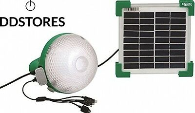 Schneider Electric SC5AEPLBSU12W Lampe mobile à recharge solaire