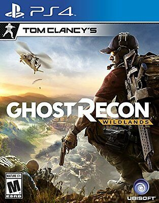 Tom Clancy's Ghost Recon Wildlands - PlayStation 4 New Ps4 Games Factory Sealed