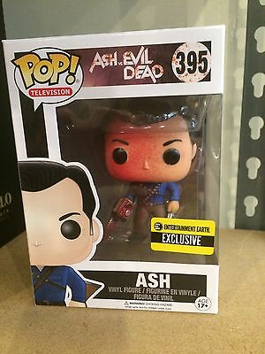 Ash VS The Evil Dead Bloody Ash FUNKO POP! VINYL Figure NEW Ee Exclusive