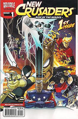 New Crusaders-Rise Of The Heroes #1-6 Red Circle Comics The Shield Fly Comet Web