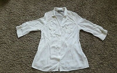 NEW LOOK long shirt/ tunic size 14 PERFECT CONDITION