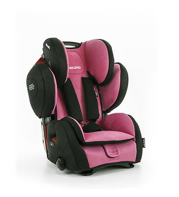 RECARO baby child car seat YOUNG SPORT HERO Pink 9-36kg 20-79lbs made in Germany
