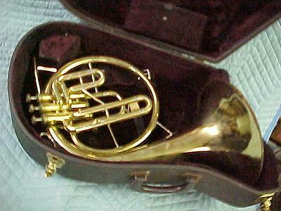 Vintage Olds Ambassador. Eb/F Mellophone , Excellent Ready to Play