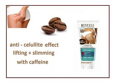 Revuele Slim & Detox,Anti-cellulite, Lifting Gel for Problem Areas with Caffeine