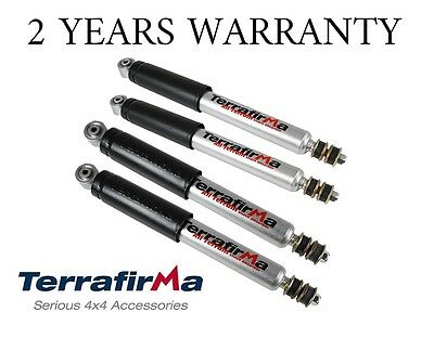 Range Rover P38 Heavy Duty Front & Rear Shock Absorber Set - Tf125 & Tf126