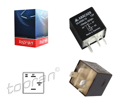 Multifunctional Relay No.109 for Audi, Seat, Skoda, VW - 357906381A