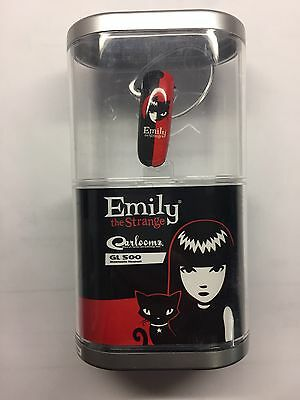 NEW Earloomz Emily the Strange Bluetooth headset GL500 Collectible and RARE!