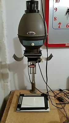 bogen photo enlarger and darkroom equipment