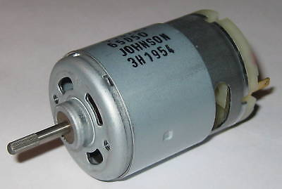 Johnson Electric 13.6V DC Hobby Motor - 6000 RPM - 6.15 oz-in - 3.6 Amp - 9167