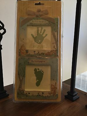 NEW!! Disney's Classic Pooh Baby's First Hand and Foot Prints Kit