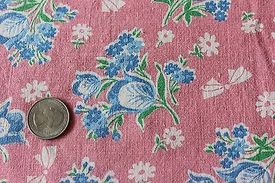 American Vintage c1930-40s Genuine Cotton Feed Sack Fabric~Quilting,Projects*
