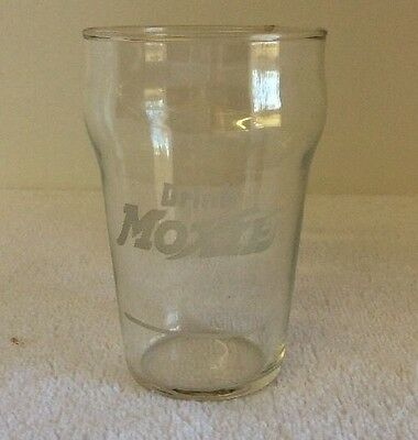 Vintage Drink MOXIE Soda Fountain Glass EXCELLENT NEAR MINT!