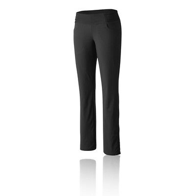 Mountain Hardwear Dynama Womens Black Water Resistant Hiking Long Pants Bottoms