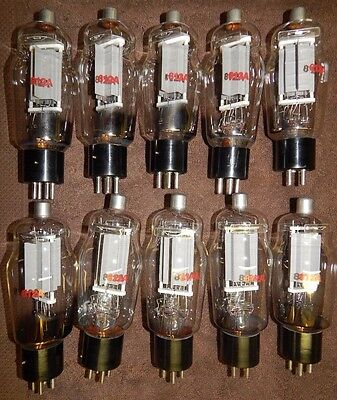 10 Pieces * Ten Brand New 812A Type 812-A Power Amplifier Tubes 100% Matched 812