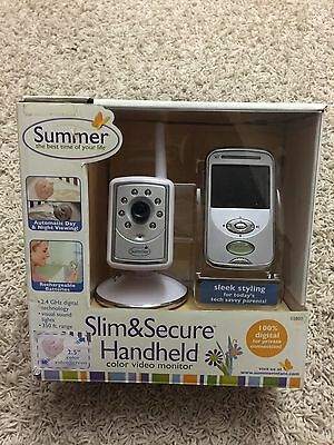 Summer Slim & Secure Handheld Color Video Monitor. Wireless Video 02800