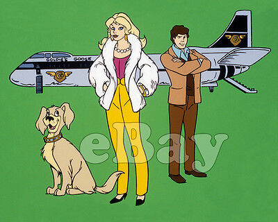 Rare! GOLDIE GOLD & ACTION JACK Cartoon Color TV Photo HANNA BARBERA Ruby Spears