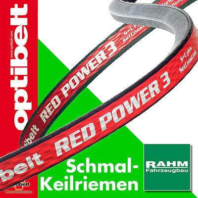 Optibelt Keilriemen Red Power III SPA  1207  -  3350