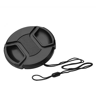 67mm Front Lens Cap Hood Cover Snap-on For Canon Sony Olympus Nikon Camera
