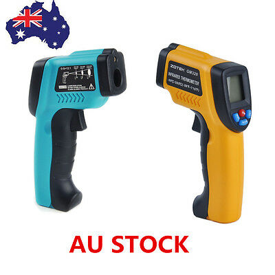 AU IR Laser Point Infrared Temperature Gun Non-Contact Digital Temperature Gun