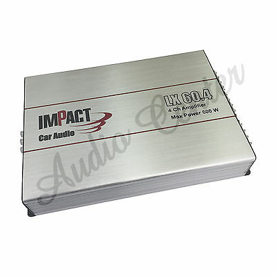 Impact Lx 60.4 Amplificatore A 4 Canali 4Ch Amplifier 700W Rms