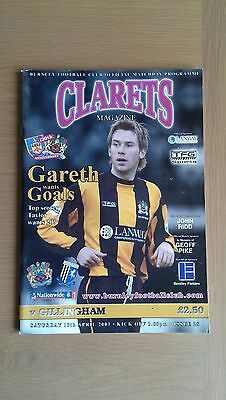 Burnley V Gillingham 2002-03