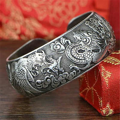 Valknut Dragon Phinex Symbol Viking Warriors Tibetan Silver Charms Bracelets