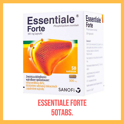 Essentiale Forte 50 tabs Liver treatment. Uk stock. Free fast Shipping!