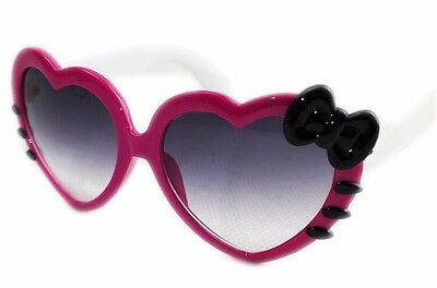 Bowknot Style Fashion Sunglasses Outdoor Love Heart-shaped Cute Baby Girls Kids