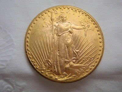 1927 Saint Gaudens Double Eagle Uncirculated Gold Coin