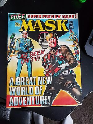 MASK Comic Magazine RARE PREVIEW ISSUE 0